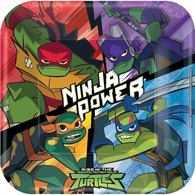 RISE OF THE NINJA TURTLES