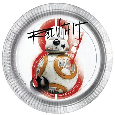 STAR WARS THE LAST JEDI TALLERKENER - BB-8