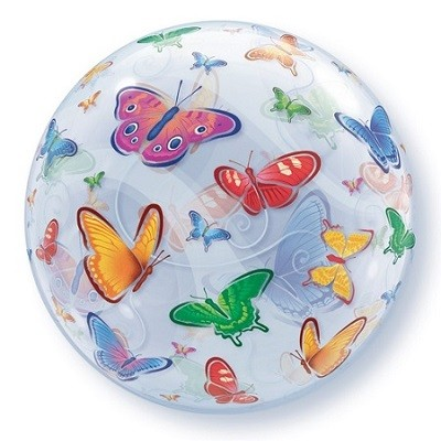 BUTTERFLY BUBBLE BALLOON