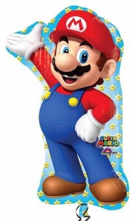 SUPER MARIO SUPERSHAPE FOLIEBALLONG