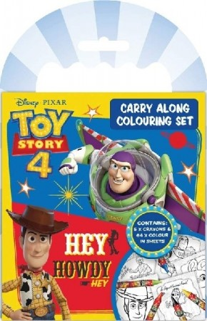 TOY STORY 4 CARRY ALONG TEGNESETT