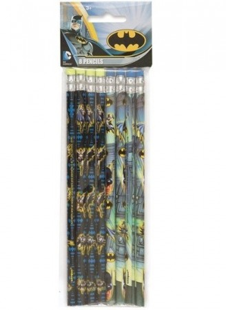 BATMAN BLYANTER (8-pk)