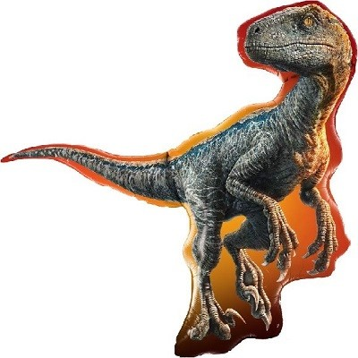 JURASSIC WORLD RAPTOR SUPERSHAPE FOLIEBALLONG