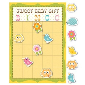 BABY SHOWER BINGO SPILL