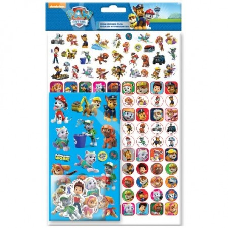 PAW PATROL MEGA STICKER PACK