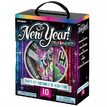 NEW YEAR CELEBRATION KIT FOR 10