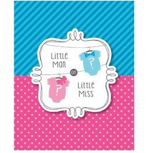 LITTLE MAN OR LITTLE MISS INVITASJONER