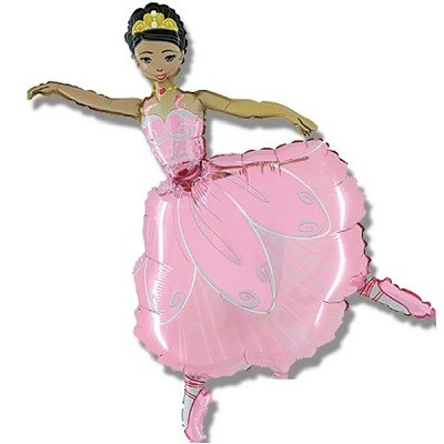BALLERINA SUPERSHAPE FOLIEBALLONG
