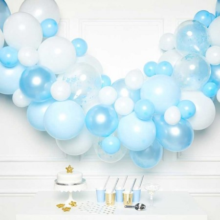 BLUE BALLOON GARLAND KIT