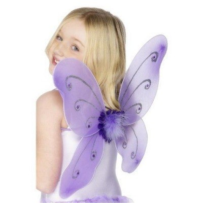 FAIRY WINGS & WAND - LILLA