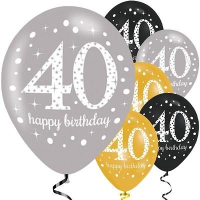 40 års dag BALLONGER TIL 40 ÅRSDAG | FESTSTEMNING.NO 40 års dag