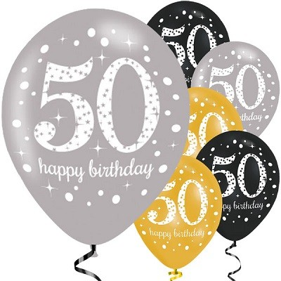 ballonger 50 år BALLONGER TIL 50 ÅRSDAG | FESTSTEMNING.NO ballonger 50 år