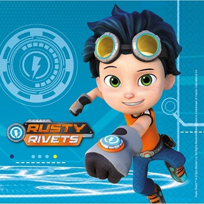 RUSTY RIVETS SERVIETTER